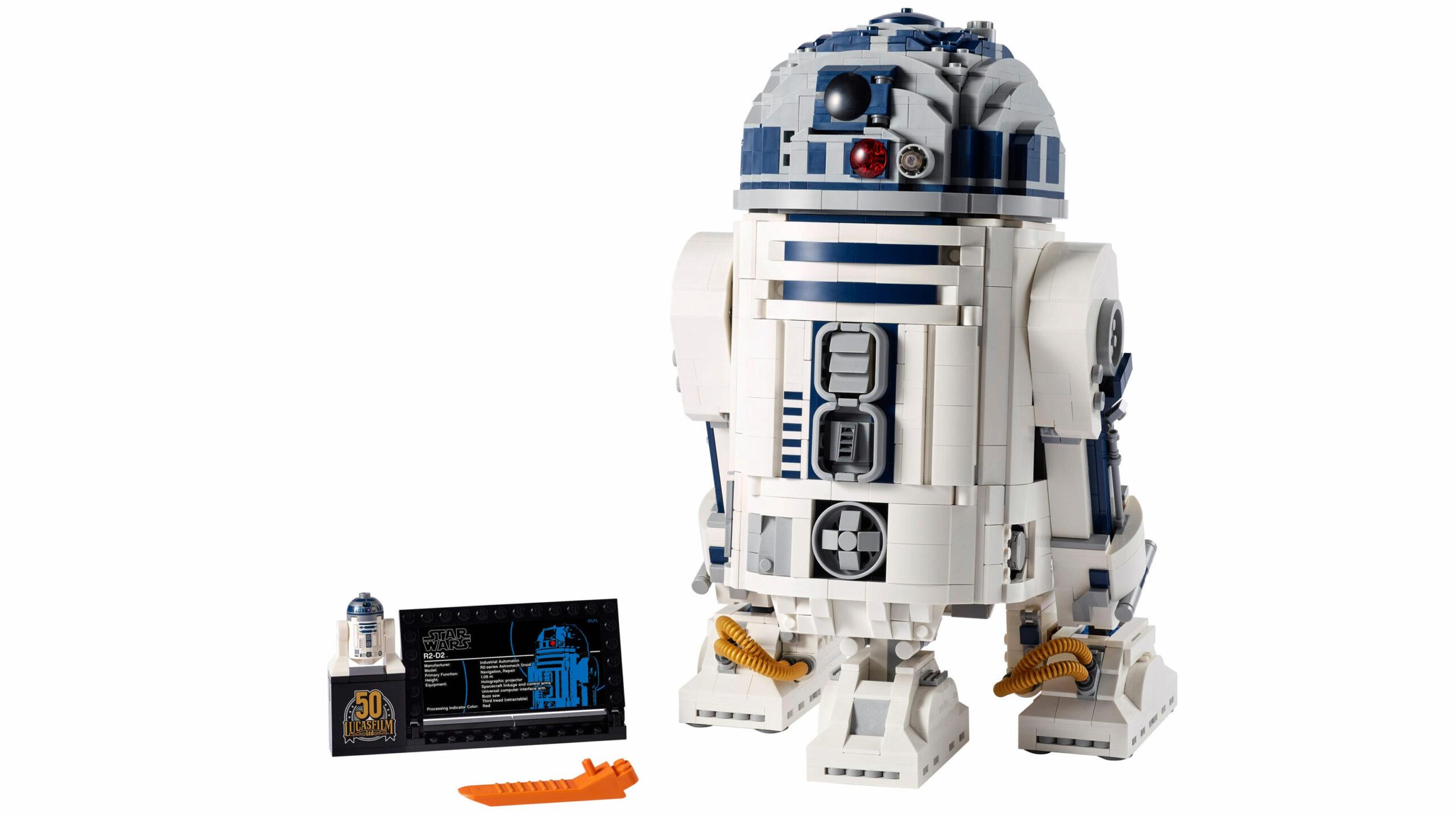 R2-D2 lego figure