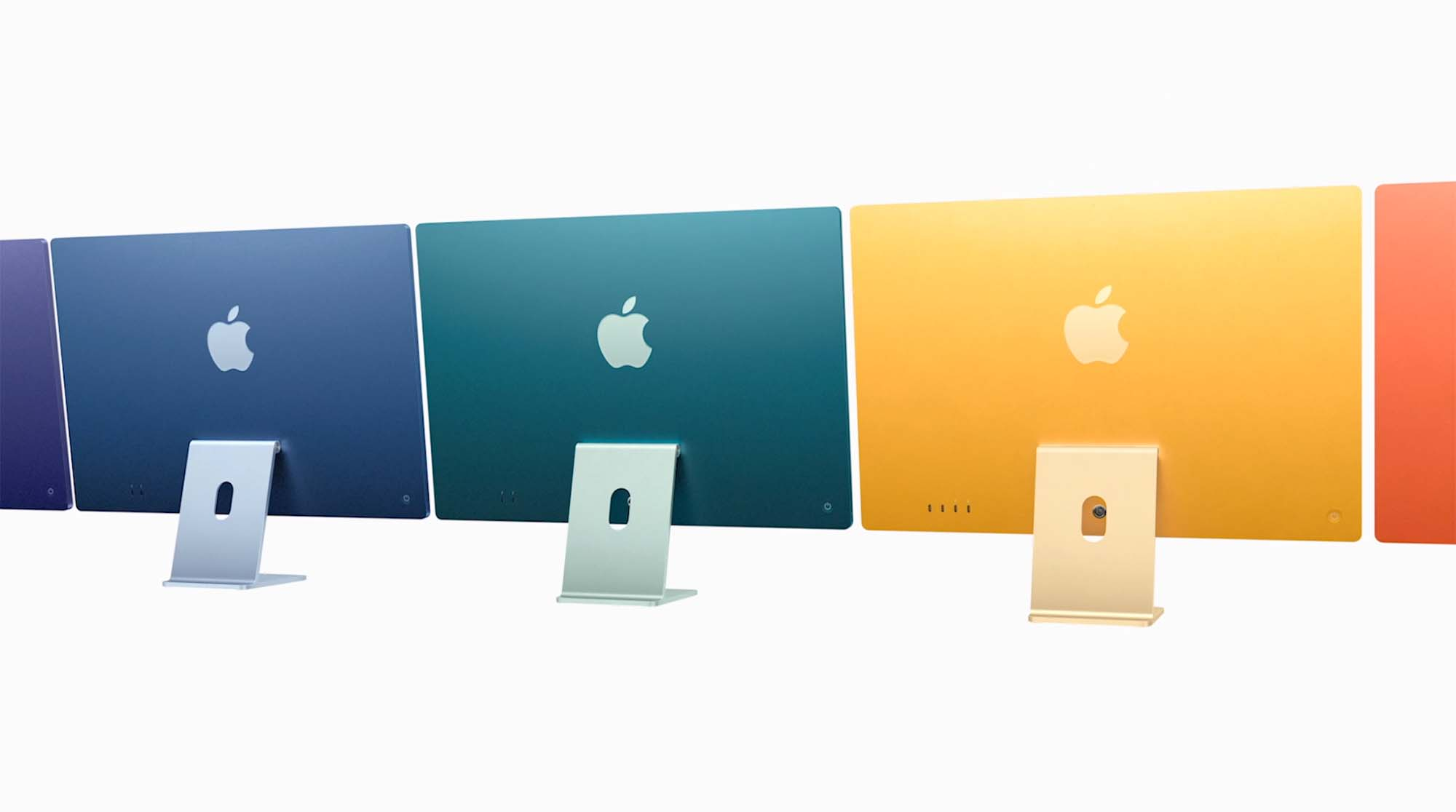 Some new iMac colours are locked behind more expensive ...