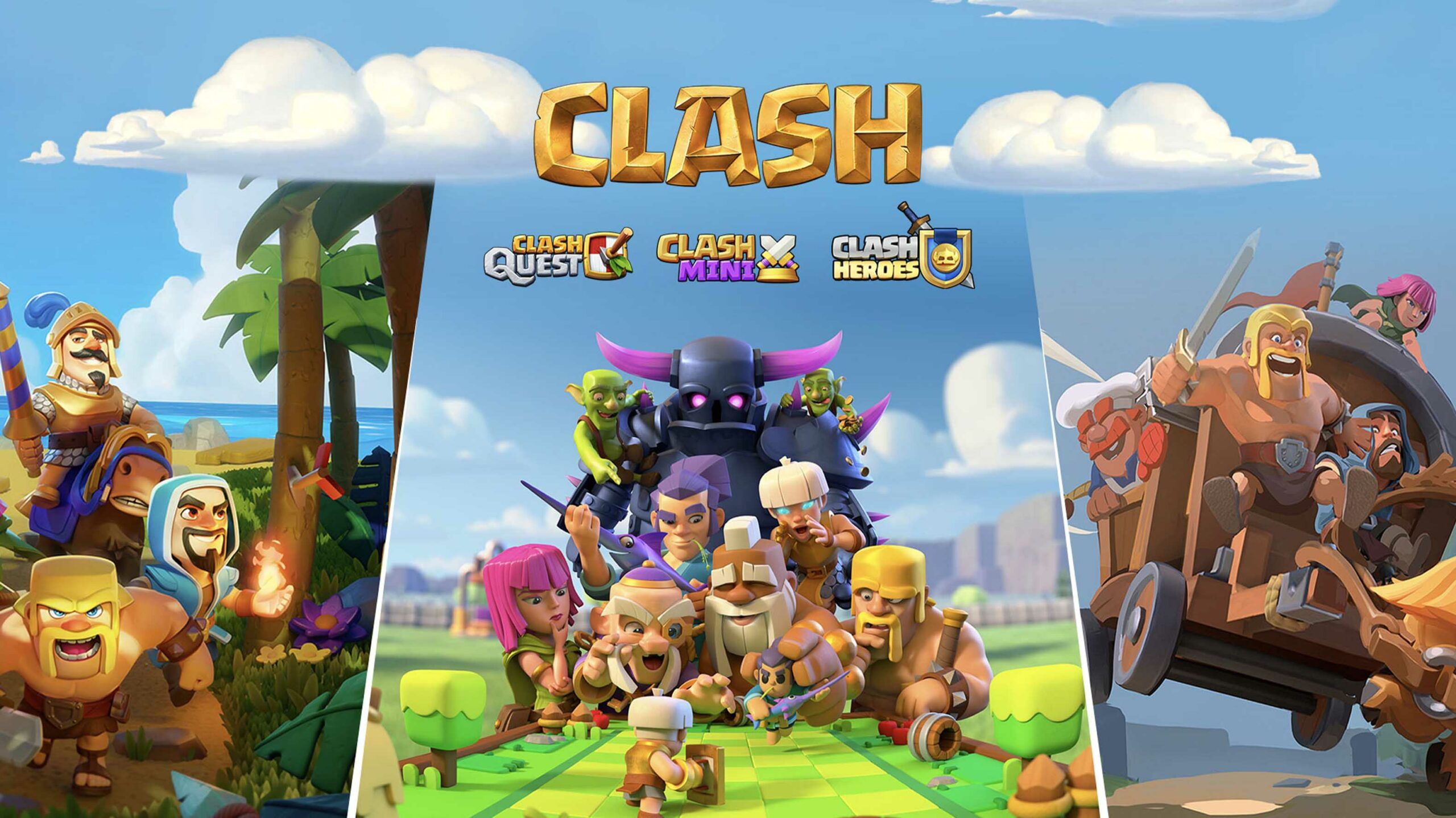 Supercell developing three new Clash games