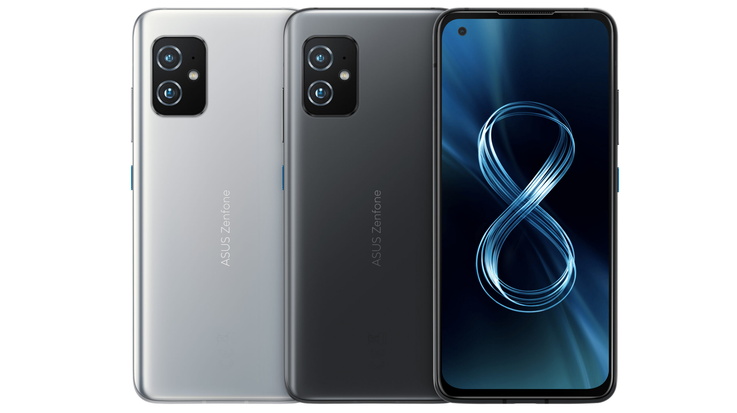 Asus Zenfone 8 front and back